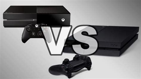 ps4 console vs xbox one ps4 vs xbox one
