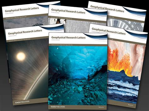 Geophysical Research Letter Abbreviation new geophysical research letters editorial revisions