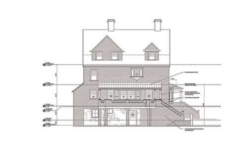 Floor Plans House Elevations Newton Shingle Style Antique House Plans By Dudley Newton