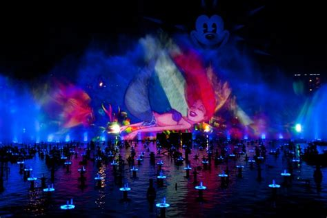 world of color viewing areas world of color at disney california adventure park this
