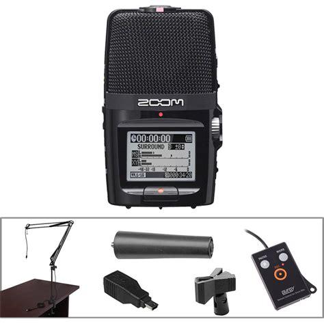 H2n Handy Recorder Zoom by Zoom H2n Handy Recorder Desktop Recording Kit B H Photo