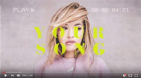 your song testo ora your song traduzione testo e nuove