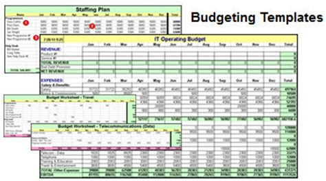 Tools It Manager Institute Simple Operating Budget Template