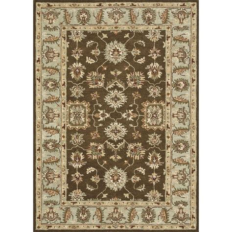Brown And Turquoise Area Rugs Loloi Rugs Fairfield Lifestyle Collection Brown Turquoise 5 Ft X 7 Ft 6 In Area Rug