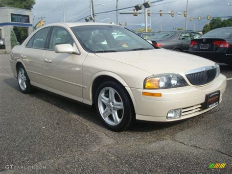 2000 lincoln ls ivory parchment tricoat 2000 lincoln ls v6 exterior photo