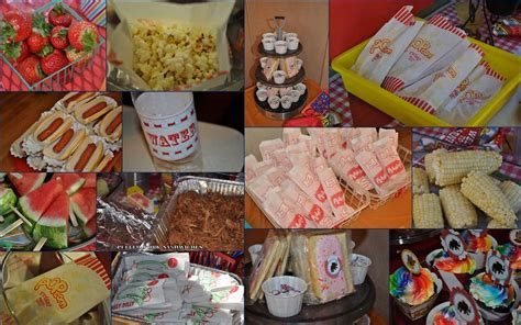 carnival themed food carnival party birthday party ideas photo 29 of 51
