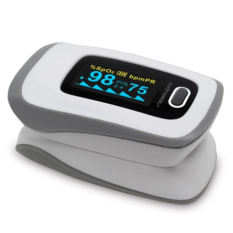 Fingertrip Oxymeter measupro ox250 instant read finger pulse oximeter blood