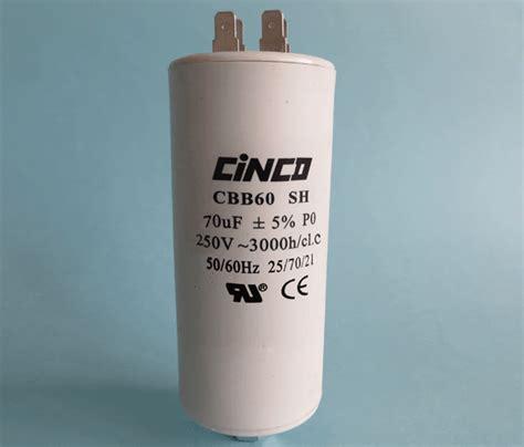 70uf 250vac cbb60a motor run capacitors 4pins cinco capacitor china ac capacitors factory