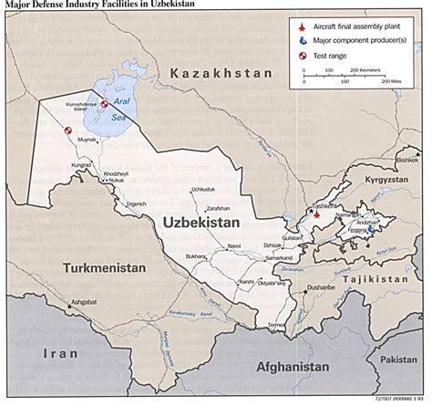 uzbekistan world map free uzbekistan maps