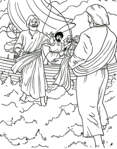 coloring pages jesus miracle hd new year 2018 bible verse