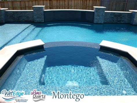 luna quartz montego pool finishes pool makeover pool