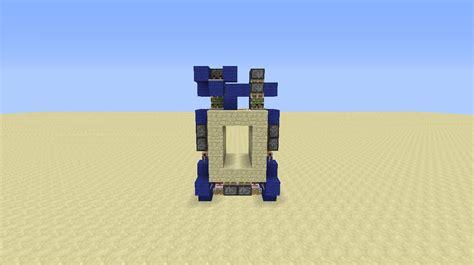 minecraft 3x2 flush piston door tutorial