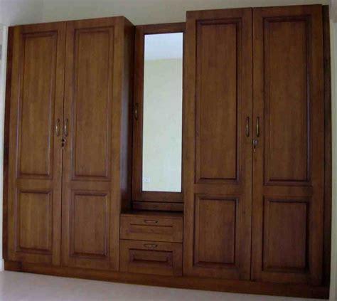 Lemari Kayu model lemari pakaian kayu jati terbaru rumah minimalis