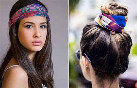which hair color best suits a woman of 58 how to wear a bandana in different styles