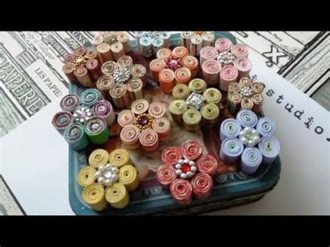How To Make Rolled Paper Flowers - the world s catalog of ideas