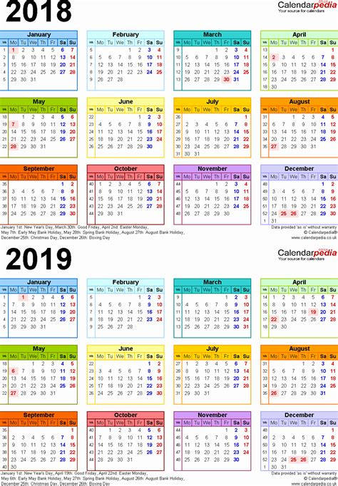 2018 19 Academic Calendar Template inspirational 28 illustration school calendar 2018 19 2018