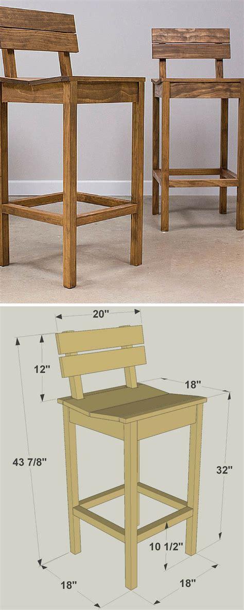 wooden bar stool plans 25 best ideas about pallet bar stools on pinterest