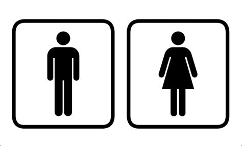 bathroom signages men women bathroom sign clipart clipart suggest