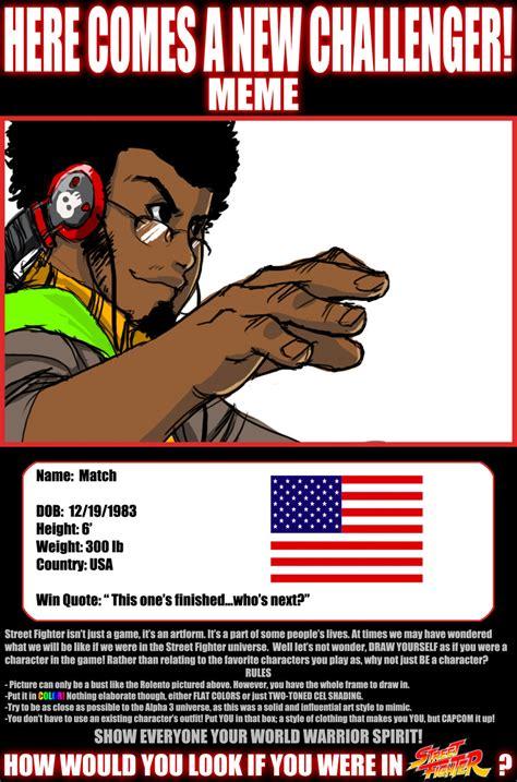 Street Fighter Meme - street fighter meme thingy by matchlight on deviantart