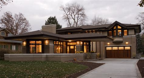 prairie style homes frank lloyd wright residential gallery prairiearchitect