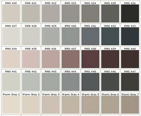 different shades of gray pantone color chart grey grey balance chart 900 jpg 900