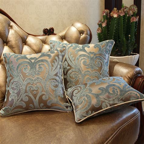 Decorative Pillows For Sofa Aliexpress Buy European Style Luxury Sofa Decorative Throw Pillows Cushion Cover Home