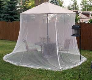 Patio Umbrella With Screen Enclosure Umbrella Mosquito Net Canopy Patio Set Screen House Wht Ebay