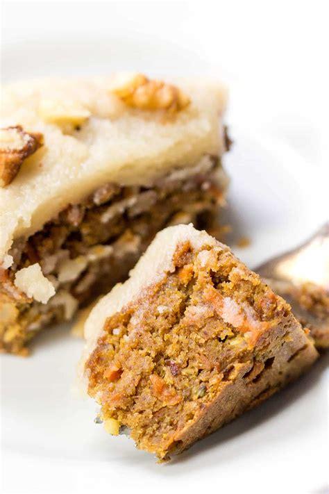 vegan carrot cake quinoa breakfast bars simply quinoa