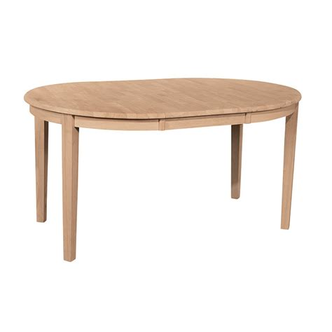 Cargo Dining Tables Whitewood Contemporary Leaf Extension Dining Table Free Shipping