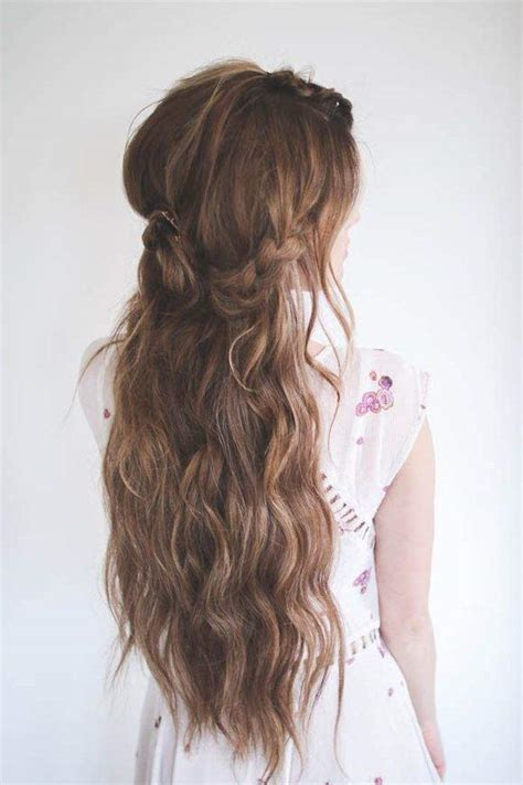 how to do half up half down hairstyles wikihow half up half down wedding hairstyles modwedding