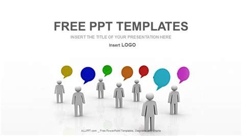 powerpoint templates for communication presentation communication and speech business ppt templates