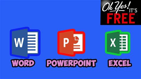 How To Get Powerpoint Free How To Get Word Excel Powerpoint 2016 For Free No Hacks
