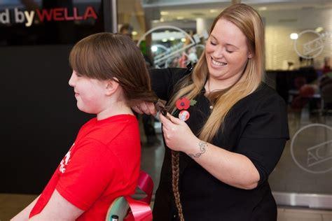 toddler haircuts edinburgh dorin s first haircut raises money for sick kids the