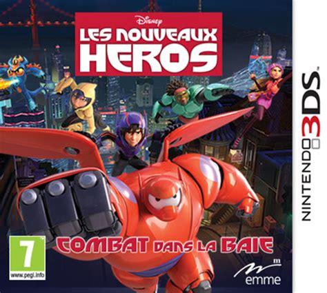 film disney les nouveaux heros les nouveaux h 233 ros adapt 233 sur 3ds et ds actualit 233 s
