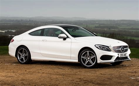 mercedes c 250 d coupe amg line 2015 uk wallpapers