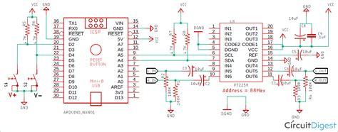 digital volume controller circuit diagram
