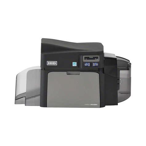 template card hid printer hid fargo dtc4250e id card printer base model