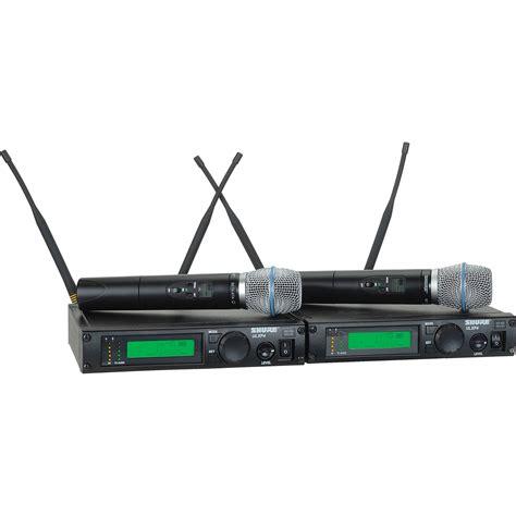 Mic Shure Ulx 4nkoper Alumenium Wireless shure ulx dual receiver uhf wireless handheld ulxp24d beta87a g3