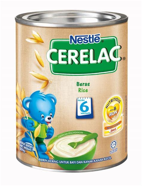 Cerelac Nestle nestle cerelac bl dha fe rice 500g