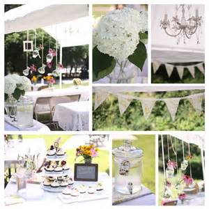 Garden party bridal shower by eat drink pretty the party dress