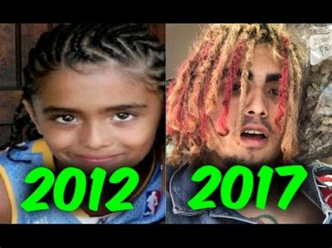 lil pump when he was young the evolution of lil pump 2012 2017 youtube