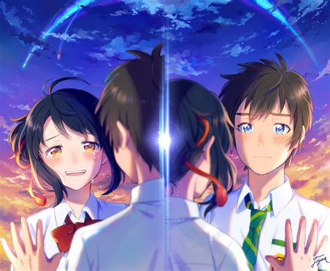 anime kimi no nawa episode 1 sinopsis anime kimi no na wa tanyawiki