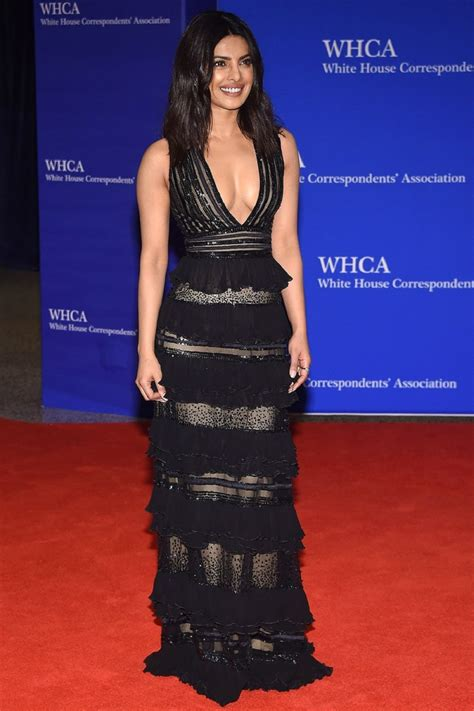 White House Correspondance Dinner by Priyanka Chopra At White House Correspondents Dinner In