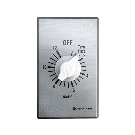 whole house fan switch timer master flow 12 hour timer for whole house fans wht36 the