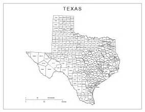 Tx Is In What County Labeled Map