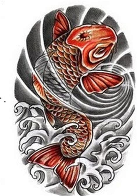 two koi fish tattoo designs japanese patterns www pixshark images