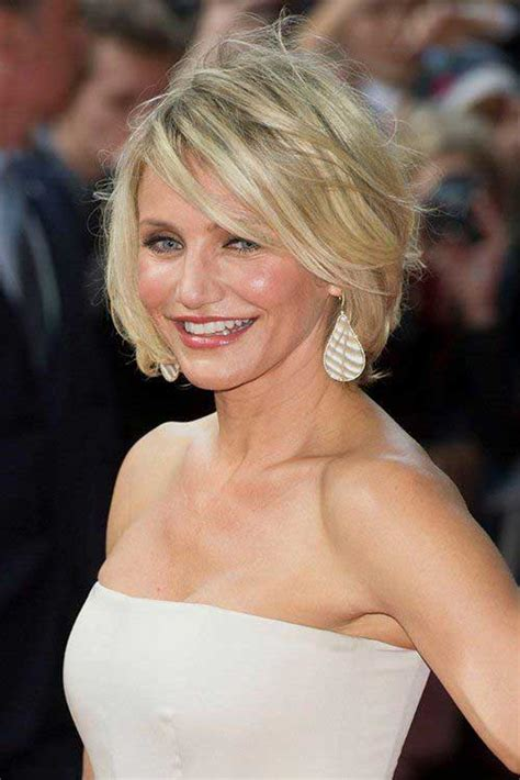 best hair woman over 40 full face 10 nice cameron diaz bob hairstyles bob hairstyles 2017