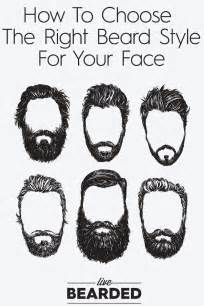 how to choose your hairstyle beard care 104 choosing the right beard style beard