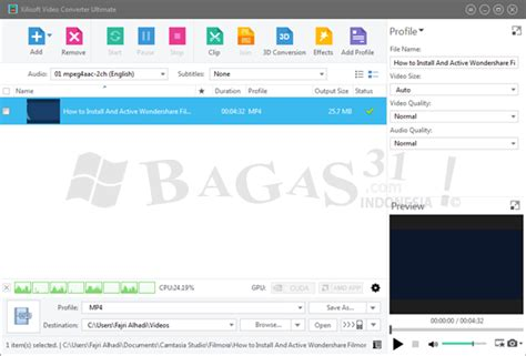 xilisof bagas31 xilisoft video converter ultimate 7 8 21 full version