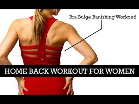 home back workout for bra bulge banishing workout